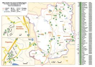 mappa Civitella Paganico