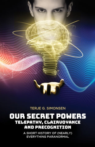 cover for Pari Publishing book Secret Powers by Terje Simonsen